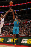 New Orleans Hornets v Los Angeles Clippers: Chris Paul and DeAndre Jordan