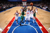 Boston Celtics v Philadelphia 76ers: Elton Brand and Kevin Garnett