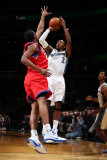 Philadelphia 76ers v Washington Wizards: John Wall and Thaddeus Young