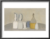 Still Life of Bottles and Pitcher, 1946