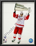 Pavel Datsyuk with the Stanley Cup, Game 6 of the 2008 NHL Stanley Cup Finals; #29