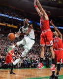 Chicago Bulls v Boston Celtics: Rajon Rondo and Joakim Noah