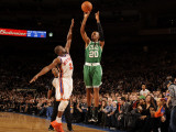Boston Celtics v New York Knicks: Ray Allen and Raymond Felton