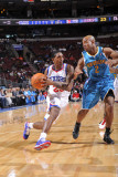 New Orleans Hornets v Philadelphia 76ers: Lou Williams and Jarrett Jack