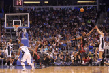 Miami Heat v Orlando Magic: J.J. Reddick and Chris Bosh