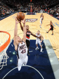 Portland Trail Blazers v New Jersey Nets: Kris Humphries and Dante Cunningham