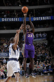 Phoenix Suns v Dallas Mavericks: Jason Richardson and Caron Butler