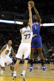 New York Knicks v Golden State Warriors: Amar'e Stoudemire and Vladimir Radmanovic