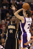 Indiana Pacers v Phoenix Suns: Goran Dragic and Solomon Jones