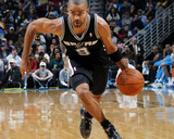San Antonio Spurs v New Orleans Hornets: Tony Parker Photographic Print