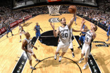 Orlando Magic v San Antonio Spurs: Manu Ginobili Photographic Print