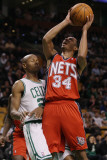 New Jersey Nets v Boston Celtics: Devin Harris and Ray Allen