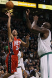 New Jersey Nets v Boston Celtics: Devin Harris and Shaquille O'Neal