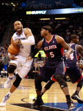 Atlanta Hawks v Orlando Magic: Vince Carter and Josh Smith
