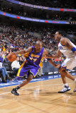 Los Angeles Lakers v Philadelphia 76ers: Kobe Bryant and Andre Iguodala
