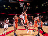 Phoenix Suns v Portland Trail Blazers: Jason Richardson and Brandon Roy