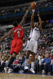 Portland Trail Blazers v Dallas Mavericks: Caron Butler and Wesley Matthews