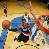 Portland Trail Blazers v Washington Wizards: Wesley Matthews and JaVale McGee