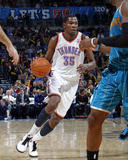New Orleans Hornets v Oklahoma City Thunder: Kevin Durant Photographic Print