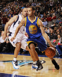 Golden State Warriors v Dallas Mavericks: Stephen Curry and Jason Kidd