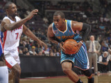 New Orleans Hornets v Detroit Pistons: Chris Paul and Ben Gordon