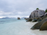 Boulders at Anse-Source D'Argent Beach
