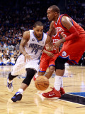 Philadelphia 76ers v Orlando Magic: Jameer Nelson and Marreese Speights