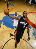 Miami Heat v Washington Wizards: LeBron James and Andray Blatche