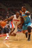 New Orleans Hornets v Detroit Pistons: Ben Gordon and Chris Paul