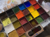 Powdered Pigments Used in Painting Icons