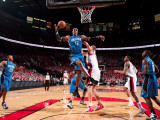 Orlando Magic v Portland Trail Blazers: Joel Pryzbilla and Dwight Howard