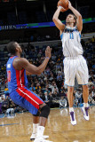 Detroit Pistons v New Orleans Hornets: David Anderson and Greg Monroe