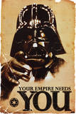 Star Wars - Empire Needs You Marilyn Monroe - Seven Year Itch, White Dress, Color James Bond: Aston Martin The Rat Pack Marilyn Monroe-Ballerina Pulp Fiction – Cover with Uma Thurman Movie Poster Scarface Casablanca Back To The Future The Godfather The Man with No Name Back To The Future The X-Files - I Want To Believe Print Arnold Schwarzenegger Jaws 1975 Movie Cover Art Rocky - Movie Score Arms Up