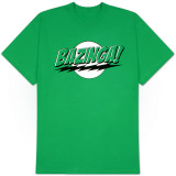Big Bang Theory - Bazinga Green Lantern Colors