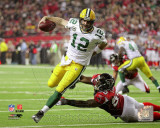 Aaron Rodgers 2010 Playoff Action