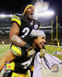 Ryan Clark & Troy Polamalu 2010 AFC Championship Game Celebration