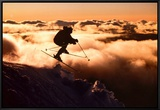 Challenge: Skier in Clouds