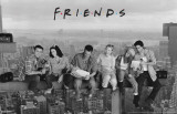 Friends - Lunch on a Skyscrape - 3D Poster