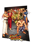 Street Fighter - 3D Poster