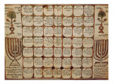 Hebraic Calendar (19th C)