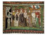 Empress Theodora with Her Court