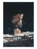 Portrait of Leon Tolstoy