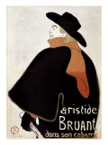 Aristide Bruant in His Cabaret