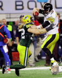 Clay Matthews Action from Super Bowl XLV