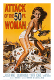 Attack of the 50 ft Woman Poster