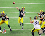 Aaron Rodgers Action from Super Bowl XLV