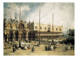 Buy The Square of Saint Mark's, Venice (Piazza San Marco) at AllPosters.com