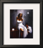 Blues Club Framed Art Print