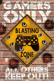 Blasting Zone Poster