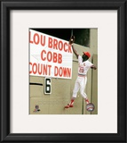 Lou Brock Action
